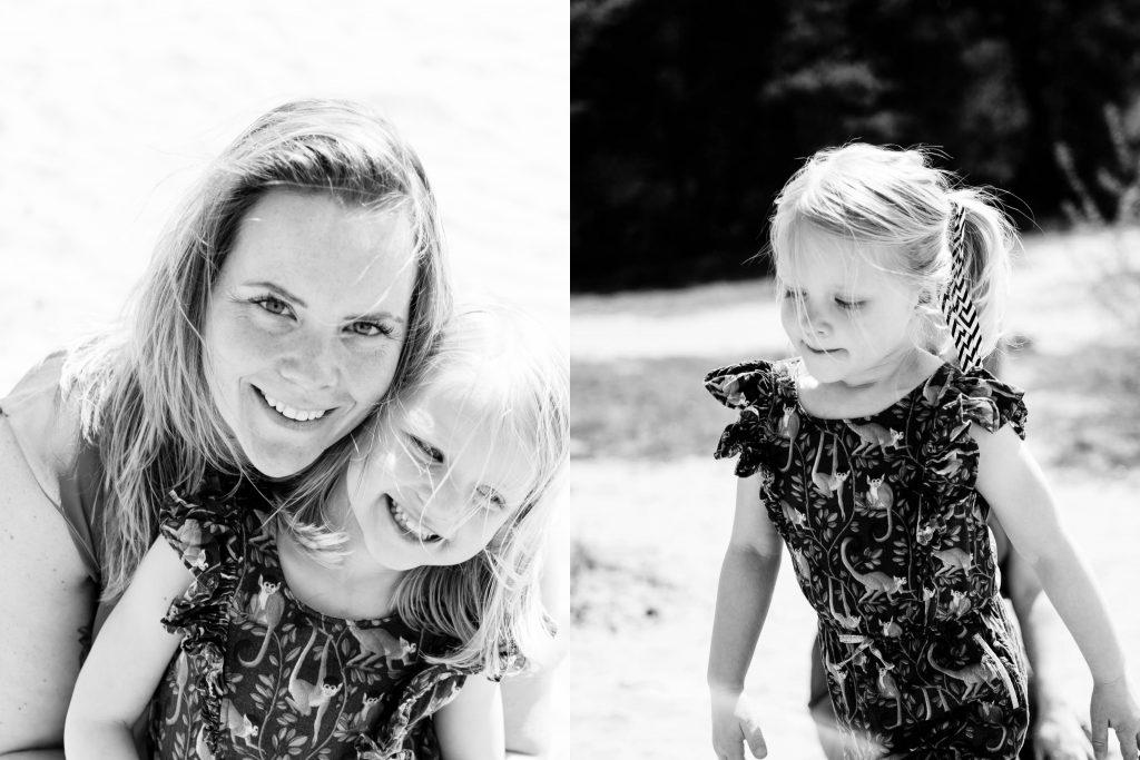 Kootwijkerzand moeder en dochter